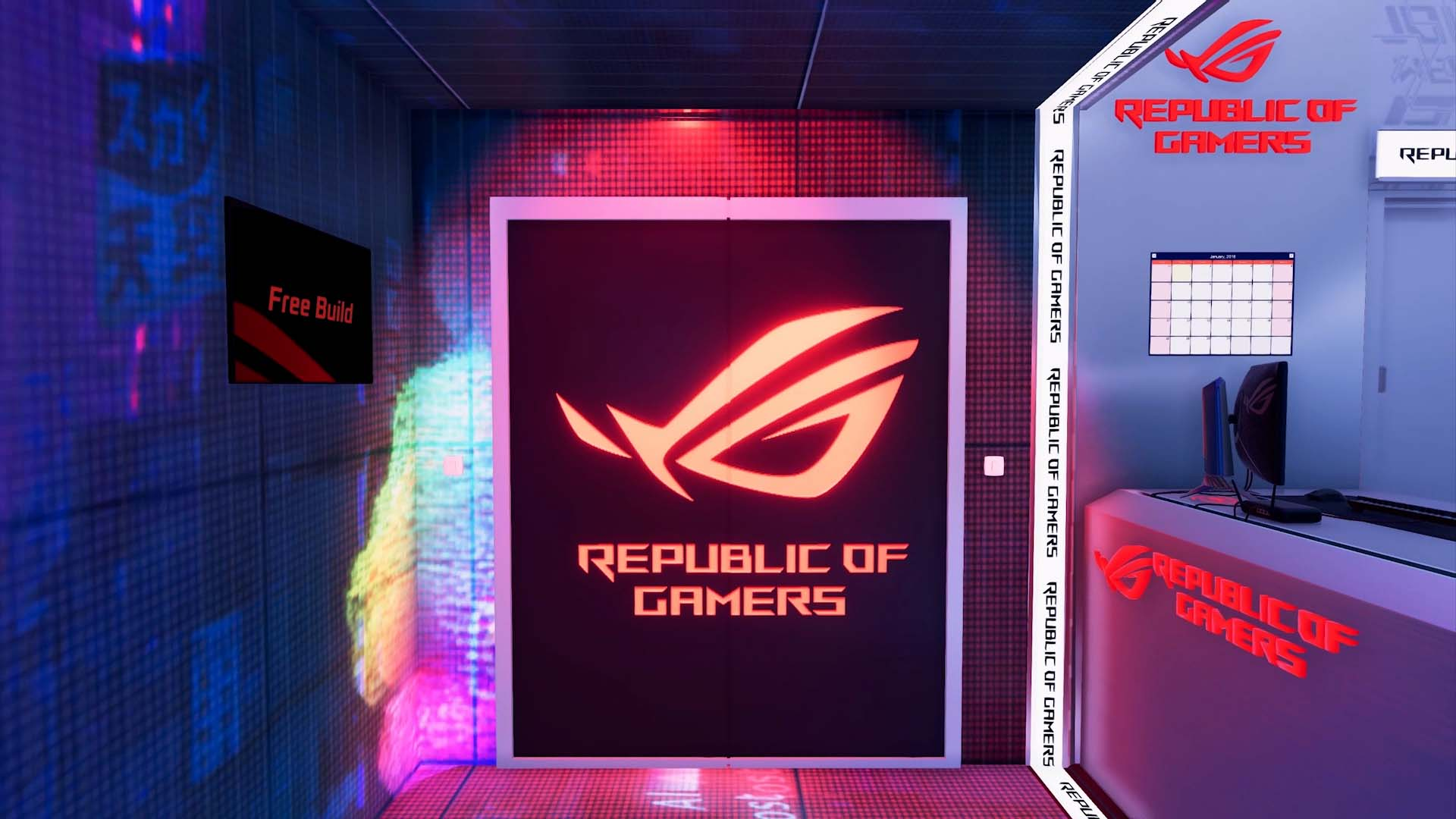 PC Building Simulator ASUS ROG Workshop DLC Trailer