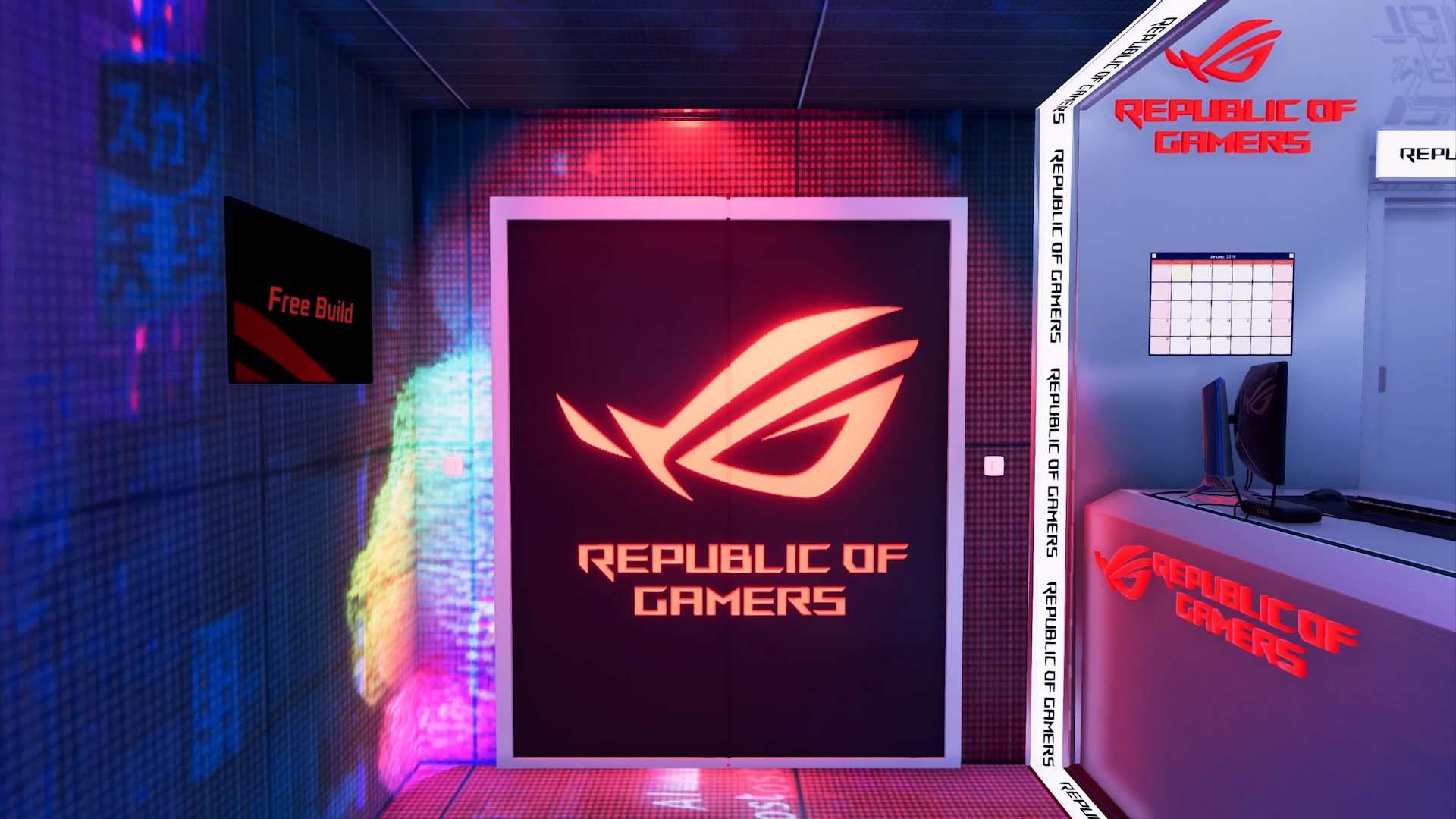 PC Building Simulator ASUS ROG Workshop DLC Trailer