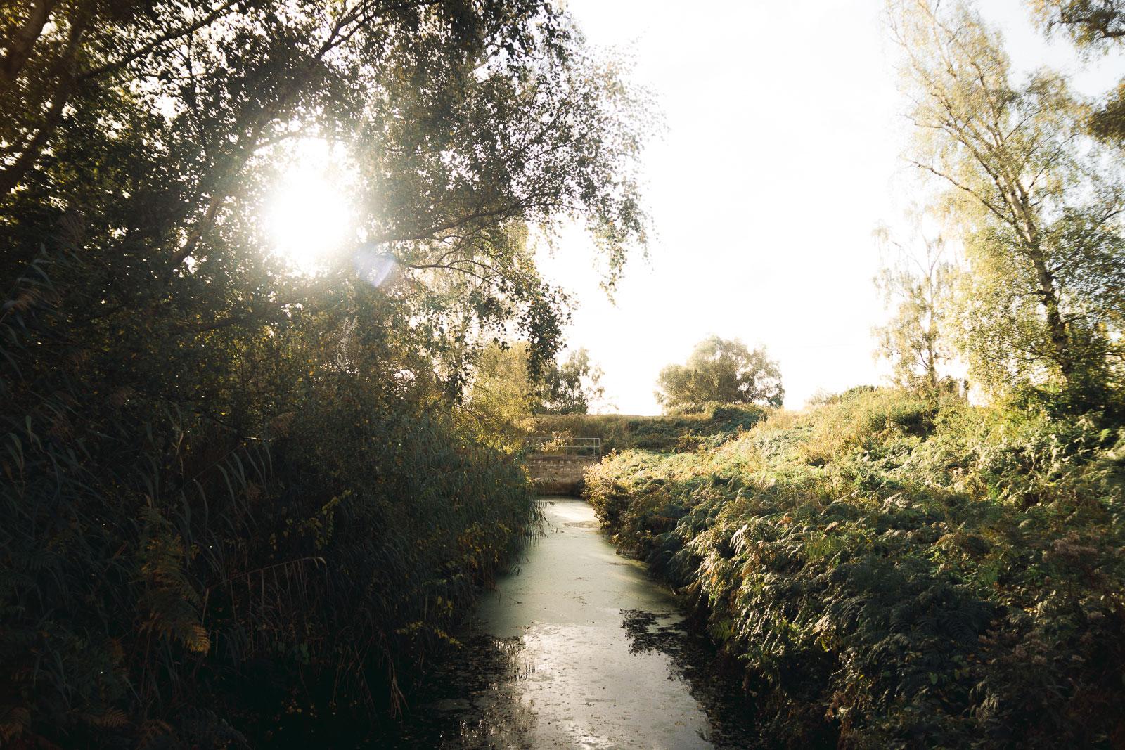 Holme Fen water runout