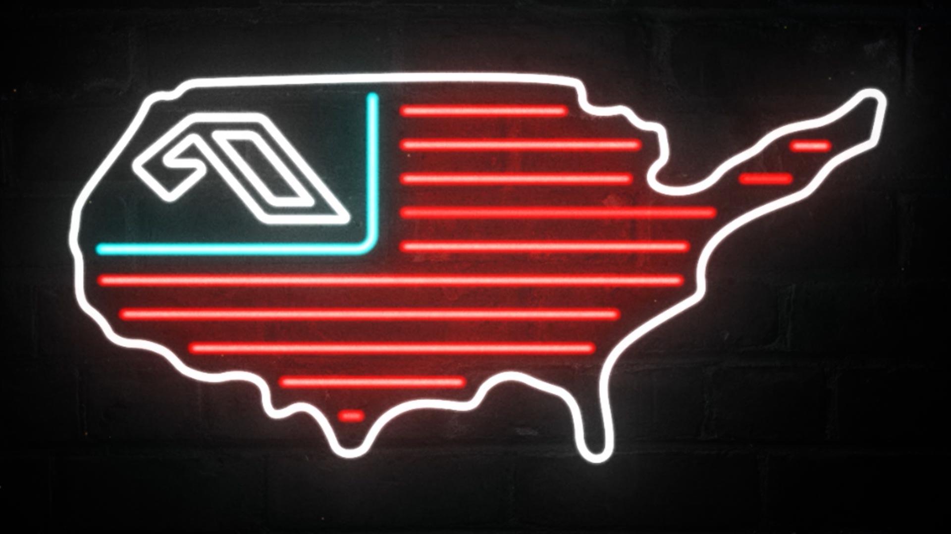 Anjunabeats North American Tour Animated