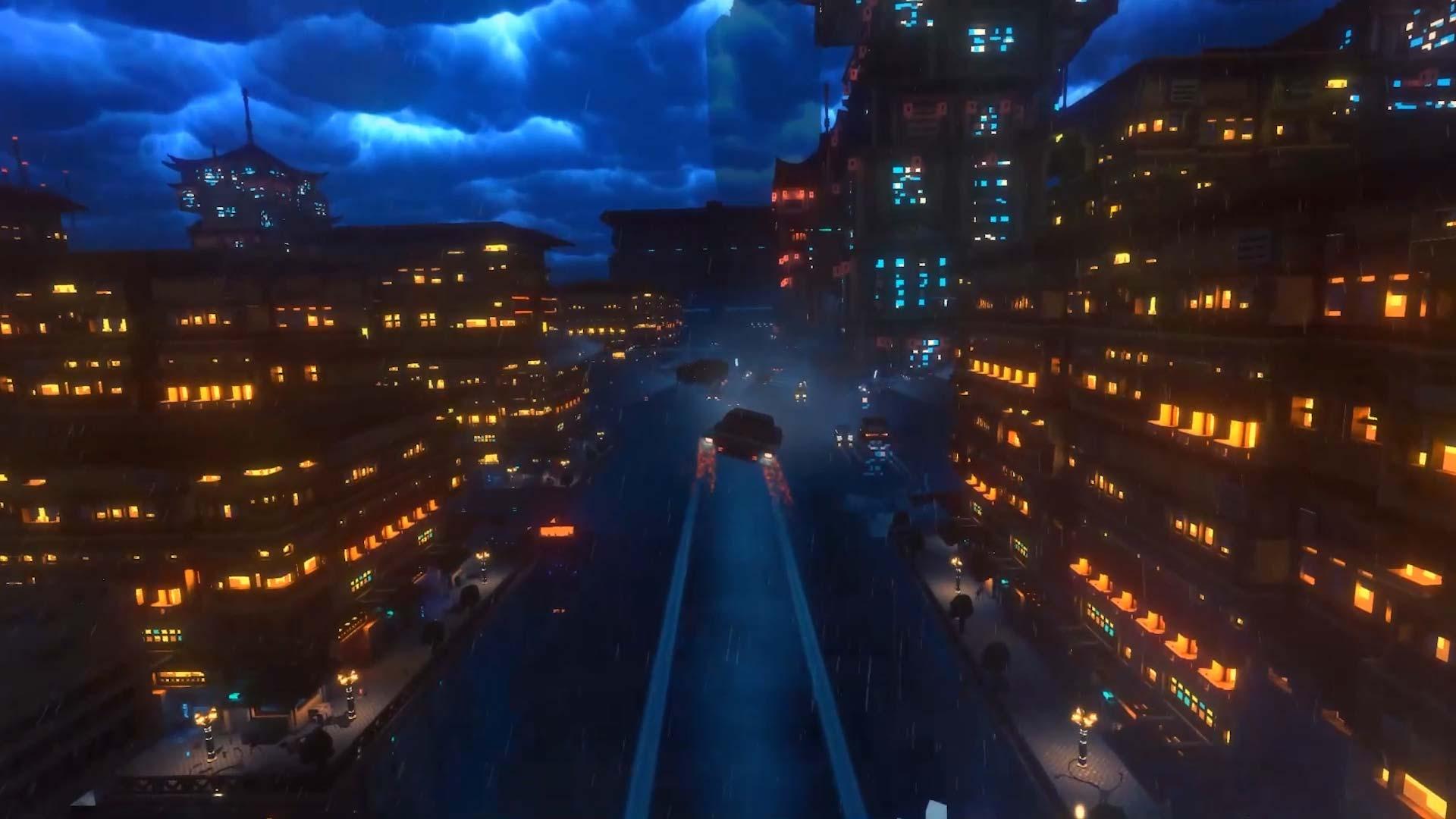 Cloudpunk - Game Teaser Trailer