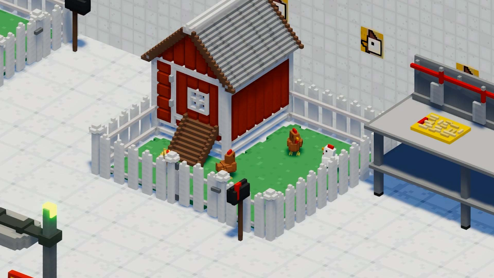 Definitely Not Fried Chicken Game Trailer