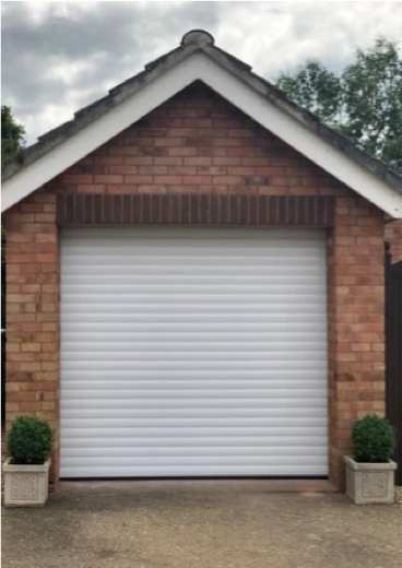 Easy Roll Residential automated roller shutter garage doors based in Taunton