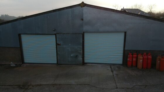 Easy Roll automated roller shutter doors based in Taunton