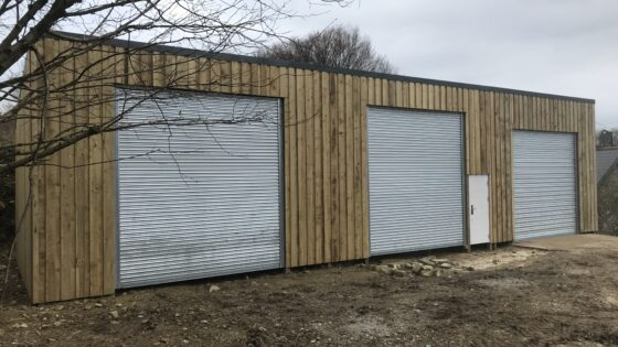 Easy Roll automated agricultural roller shutter doors based in Taunton