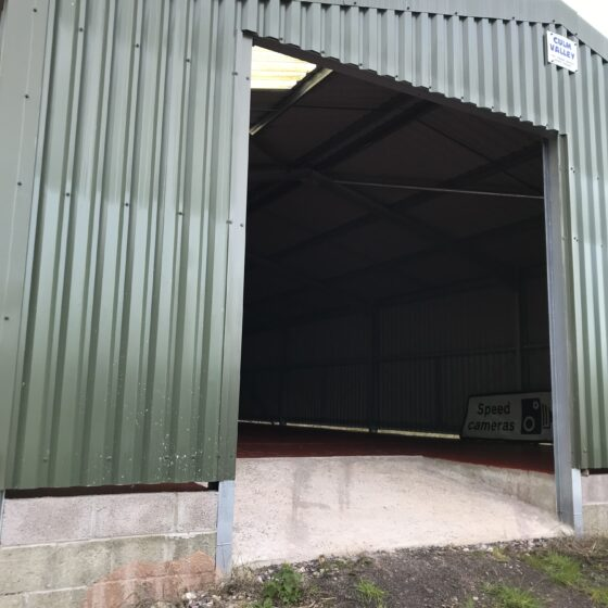 Easy-Roll agricultural automated roller shutter door taunton