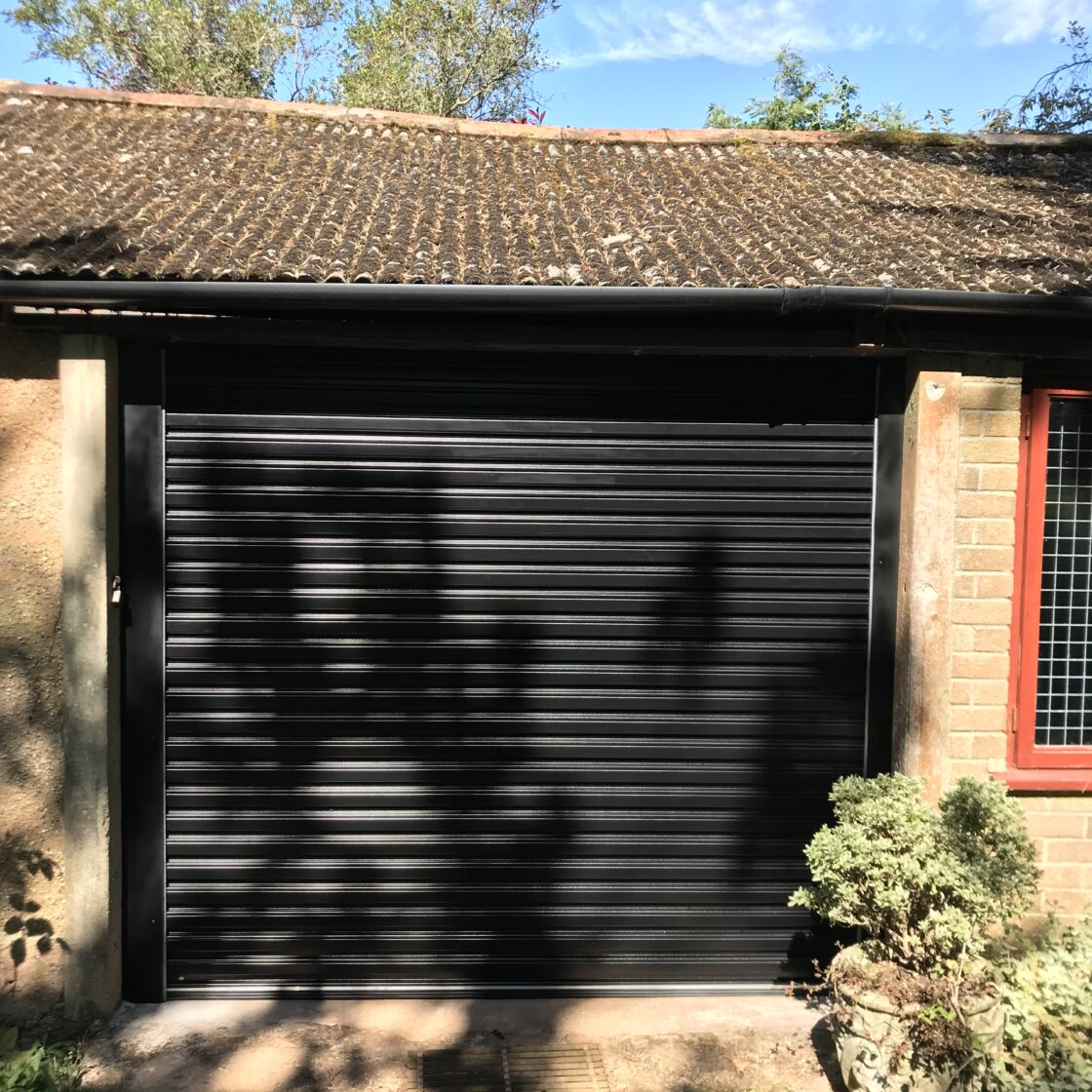 Easy-Roll residential automated roller shutter door taunton