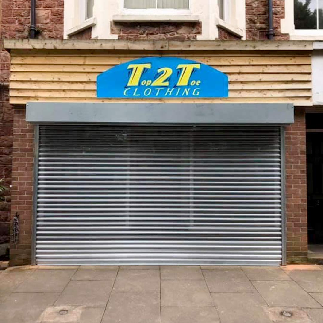 Easy-Roll Commercial Roller Shutter Door Installation Taunton