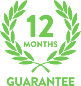 Easy-Roll 12 month guarantee on roller shutter doors