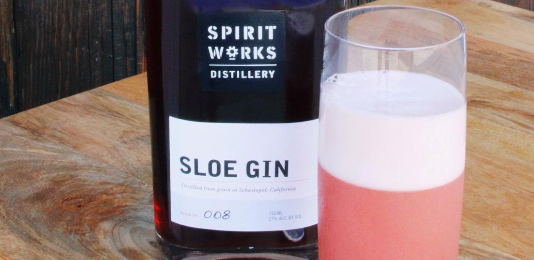 Sloe Gin Fizz