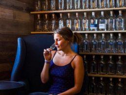 lauren-sniffing-whiskey