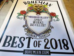 Bohemian 2018 award