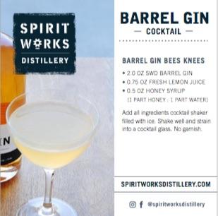 SHELF TALKER - BARREL GIN COCKTAIL & STORY