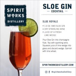 SHELF TALKER - SLOE GIN COCKTAIL & STORY