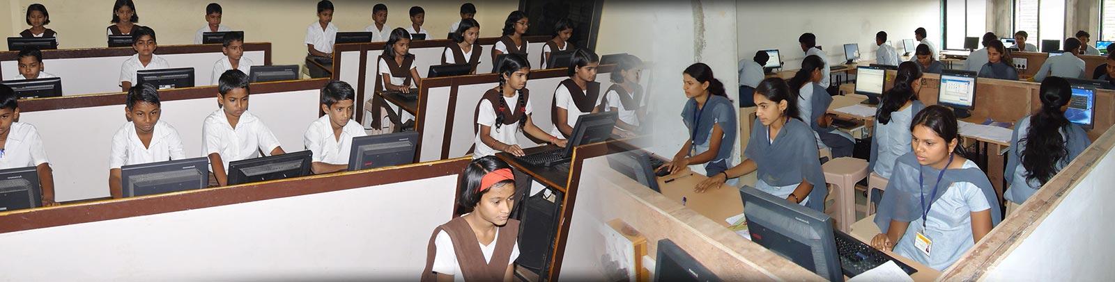 Students at computer lab