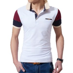 Polo homme slim fit pas cher