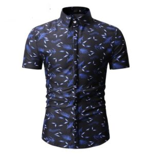 Chemise manches courtes homme mode 2021