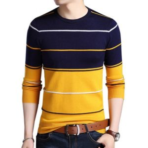Pull homme rayé pas cher