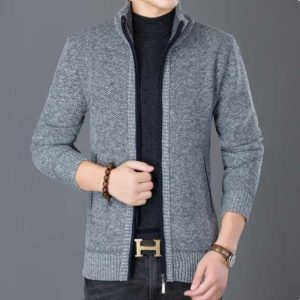 Tricot cardigan homme pas cher