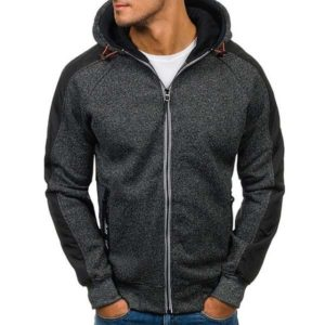 Sweat capuche chaud homme