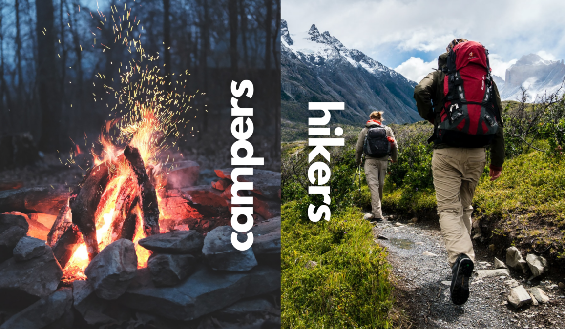 Essential gears for campers and hikers