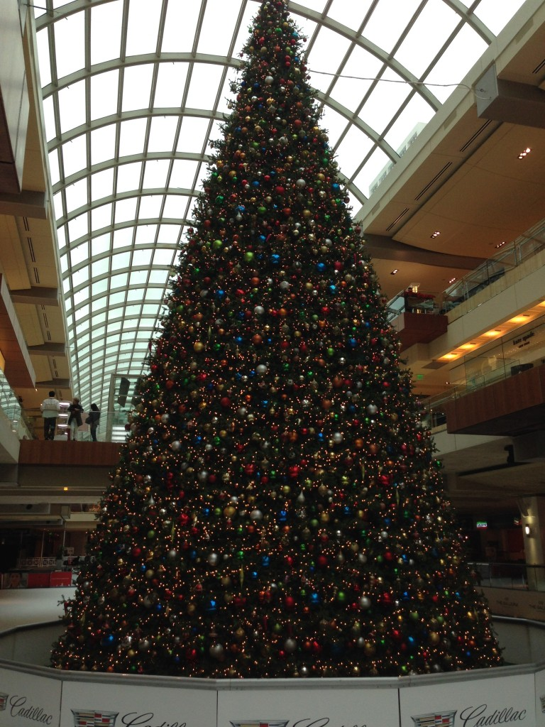 Tree at the Galleria.