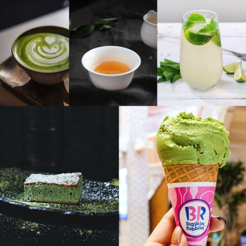 Japanese green tea products