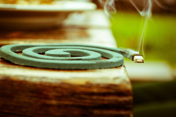 coiled incense