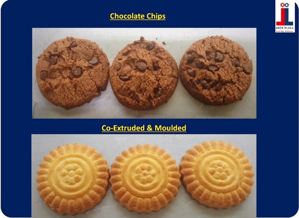 Chocolate Chips & Co-Extruded & Moulded