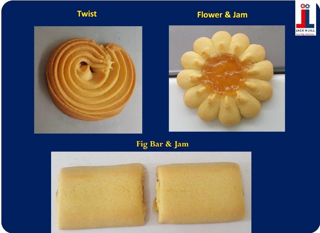 Twist, Flowers & Jam and Fig Bar & Jam - Product Portfolio