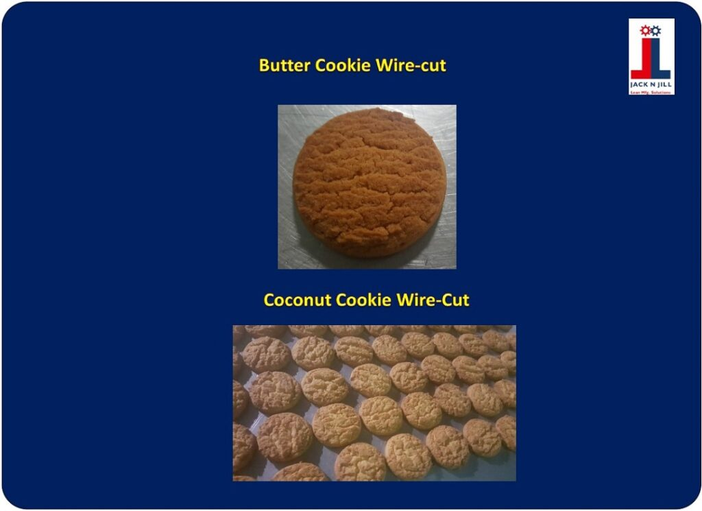 Butter Cookie Wire-cut and Coconut Cookie Wire-cut - Product Portfolio