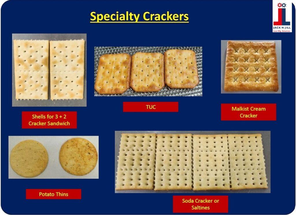 Specialty Crackers - Product Portfolio