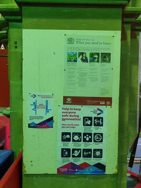 Greenhead Gymnastics Huddersfield Covid Return 4