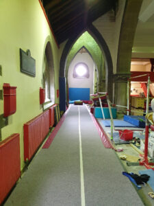 Greenhead Gymnastics Club Tumble Track and Pit