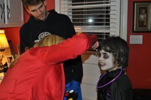 Braxton Halloween - Face Painting