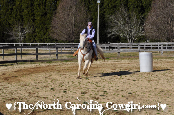 Jet and I Loping