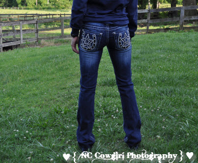 Miss Me Jeans Back View