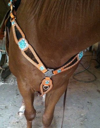 Black Custom Tack Set