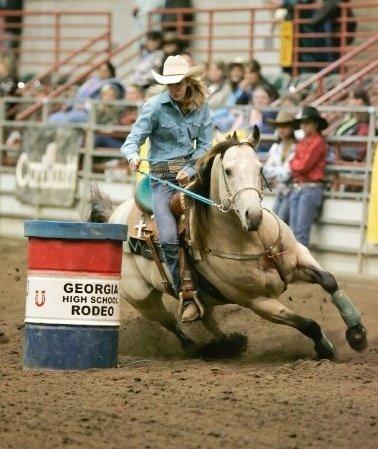 Kristin Yde on Smack at SEBRA Rodeo