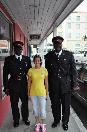 Police in Nassau