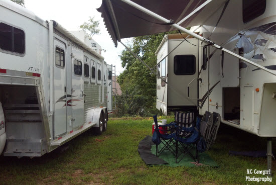 Horse Trailer Camping