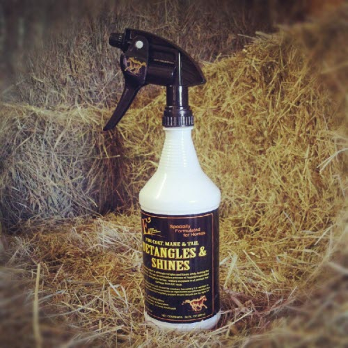 E3 Elite Equine Detangles & Shines Spray