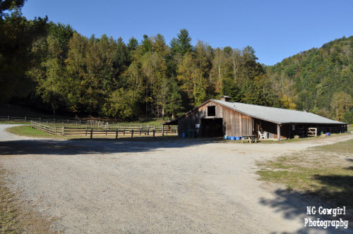 Leatherwood Mountains West Barn
