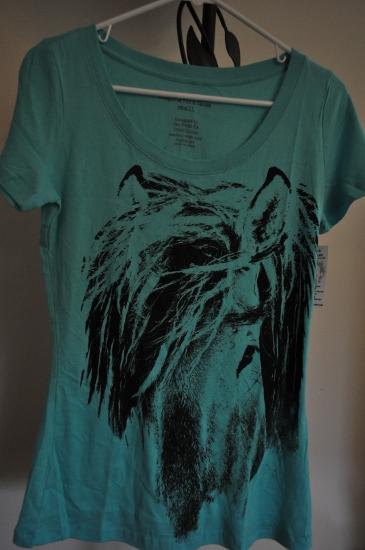 Teal Horse Shirt
