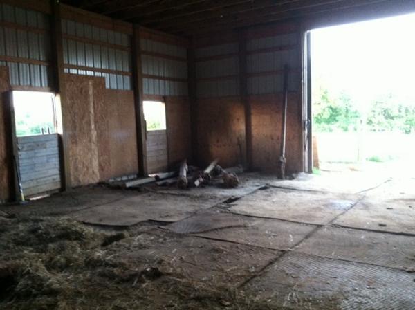Barn Empty
