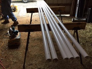 DIY Pole Bending Set