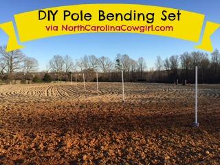 DIY Pole Bending Set