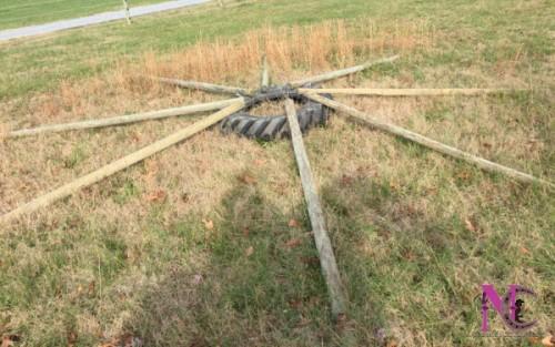 wagon wheel obstacle