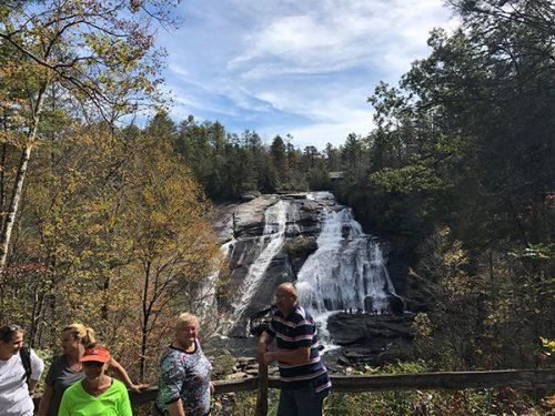 High Falls Waterfall at Dupont