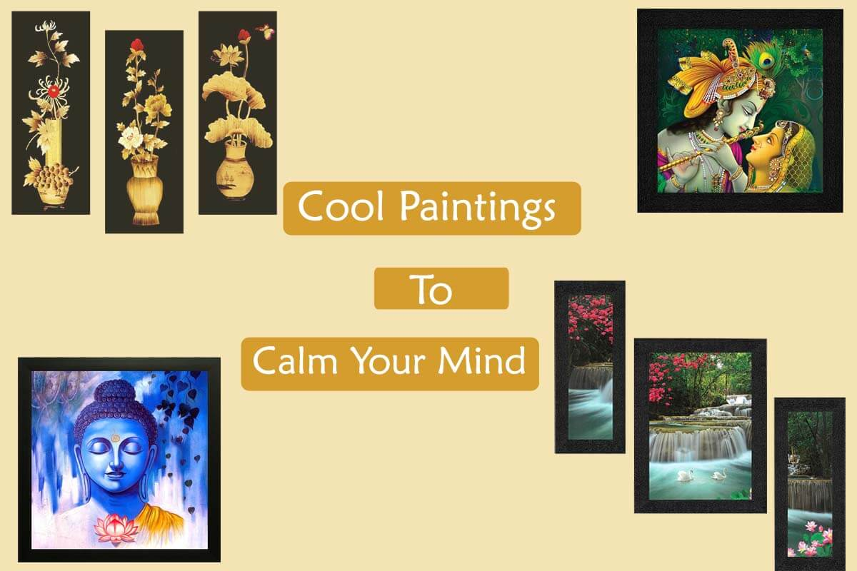 Top 6 SAF Home Decorative Cool Paintings to Calm Your Mind